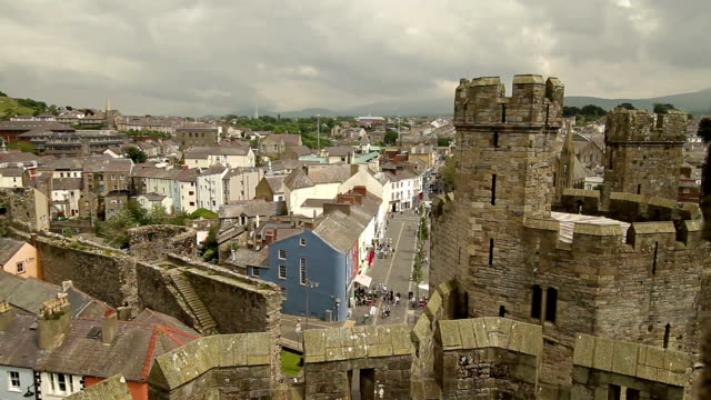 Skyline - Conwy, Wales - Still Shot video
