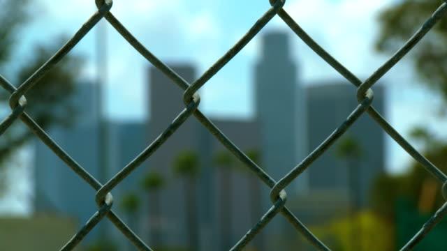 DTLA Skyline Fence, Wide video