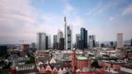 Skyline Frankfurt, Time Lapse video