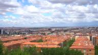 Skyline Madrid, time lapse video