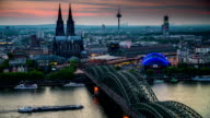 Skyline of Cologne video