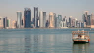 Skyline of Doha, Qatar video