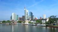 HD Skyline of Frankfurt am Main (Time Lapse) video