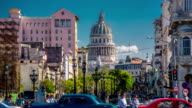 Skyline of Havana with Capitolio , Cuba video