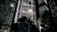 Skyline of Hong Kong City video