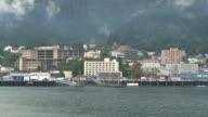 Skyline of Juneau, Alaska video