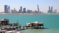 Skyline of Manama, Bahrain video
