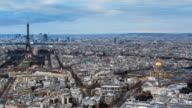 Skyline Paris timelapse video