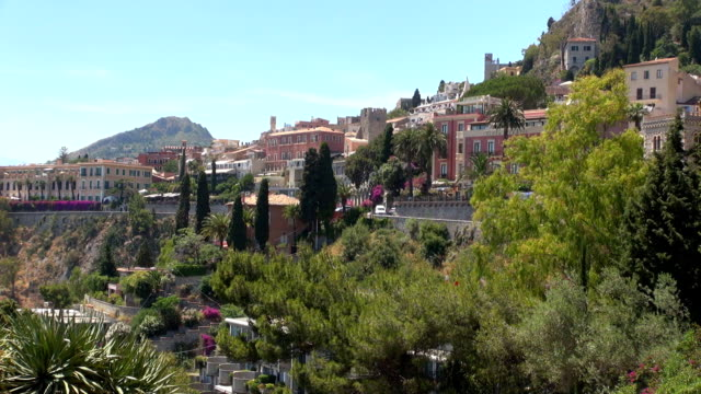 Skyline - Taormina, Sicily, Italy video