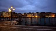 Skyline Venice at sunset video