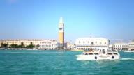 Skyline von Venedig mit St. Marks Platz video
