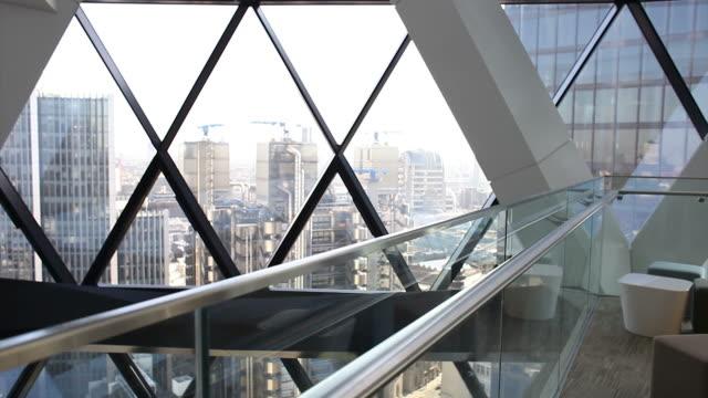 Skyscraper balcony video