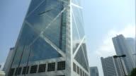 Skyscraper building at Hong Kong video