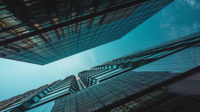 Skyscraper Buildings and Sky View video