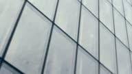 Skyscraper Windows Panning Video video