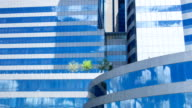 Skyscraper Windows Reflected video
