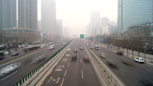 Skyscrapers in Beijing video