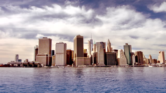Skyscrapers in Lower Manhattan video