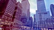 Skyscrapers in Manhattan, New York, USA video