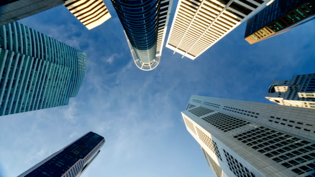Skyscrapers of Singapore Central Business District video