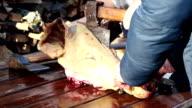 Slaughtering Pork video