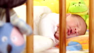 sleeping baby video
