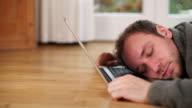 DOLLY: Sleeping on Laptop video