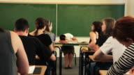 Sleeping Teacher video