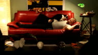 sleeping video