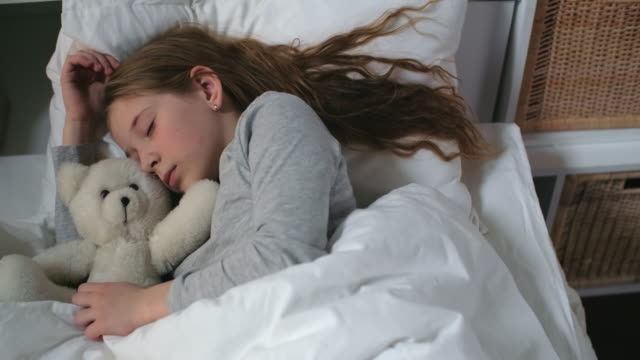 Sleeping with soft friend video