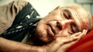 Sleepy old man video