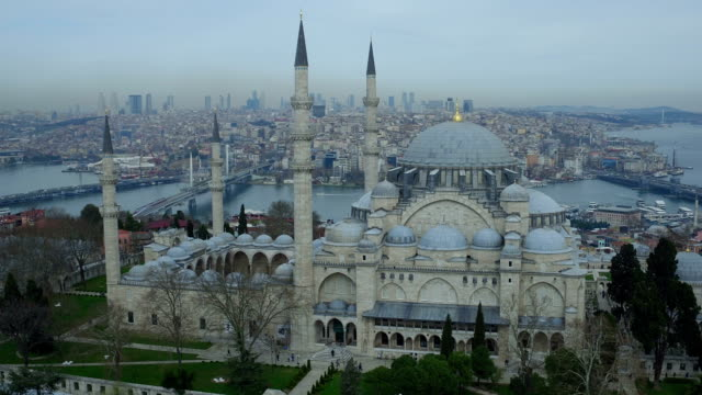 süleymaniye mosque camii  istanbul video
