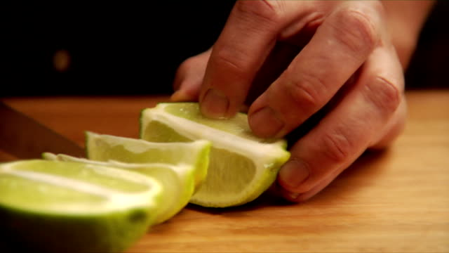 slicing a lime video