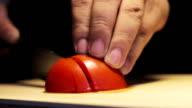 Slicing A Tomato video