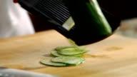 HD Slicing Cucumbers video