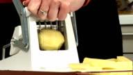 HD: Slicing Potato video