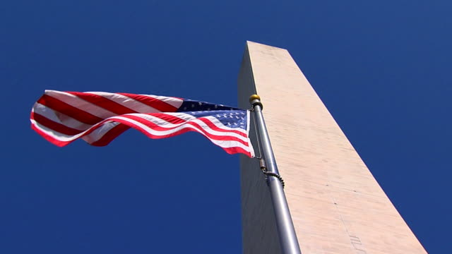 HD SloMo American Flag_LA1 (720/24P) video