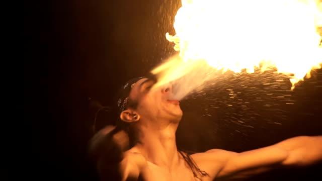 SloMo Firebreathing video