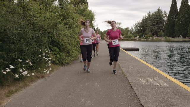 SloMo Run to promote breast cancer awareness video