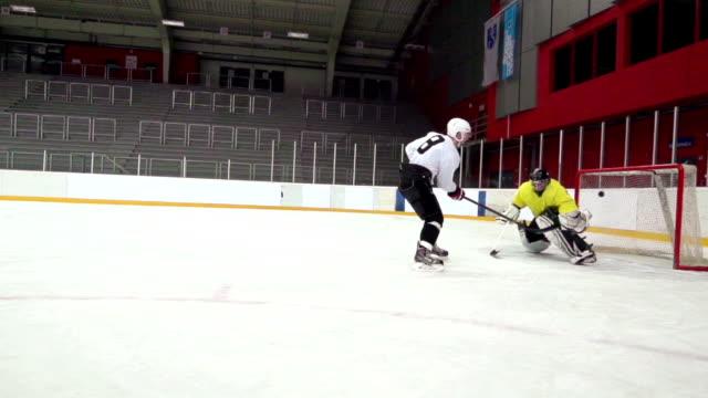 HD: Slo-Mo Shot of Young Man Having Penalty Shot video