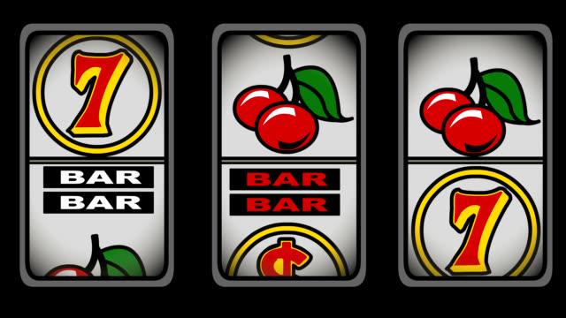 Slot Machine Animation video