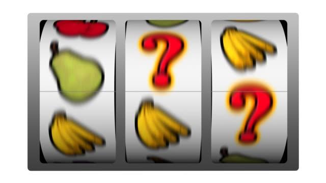 Slot Machine - Question Mark Winner video