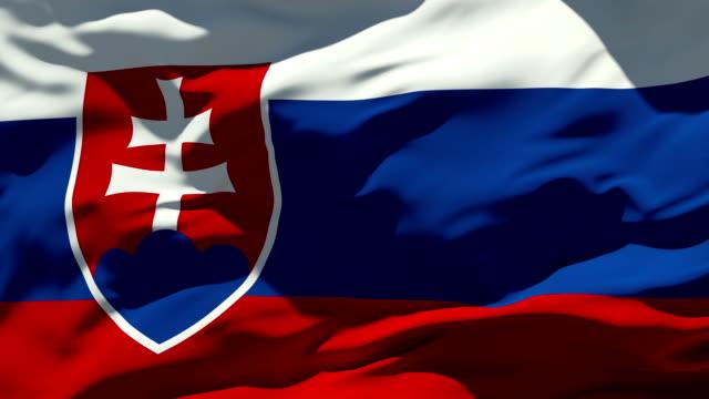 Slovakian Flag video