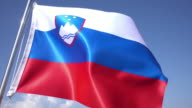 Slovenian Flag video