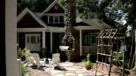 Slow Dolly Push In on Luxury Cottage Lakefront Setting video