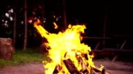 Slow mo: Bonfire video