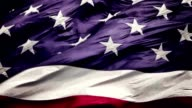 Slow Motion American Flag In The Wind video