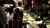 Slow motion Asian street video