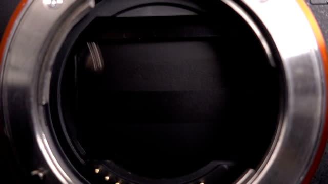 Slow motion Camera Mirror Shutter Mechanism video