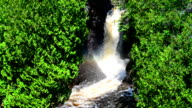 Slow Motion Cascading Falls video